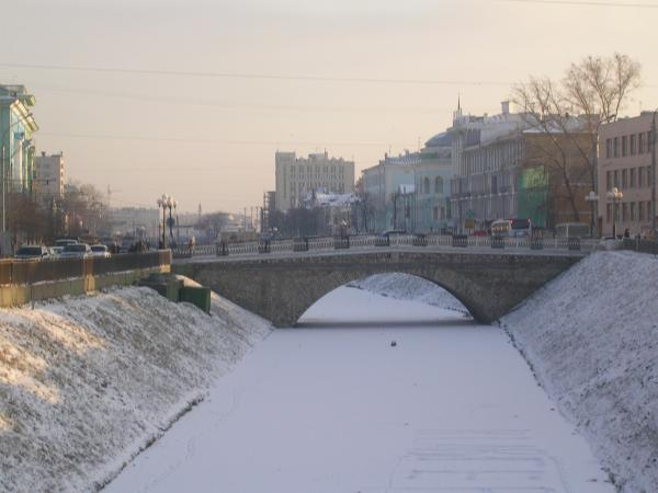 Лебедевский мост. Казань #0119. | 450x600
